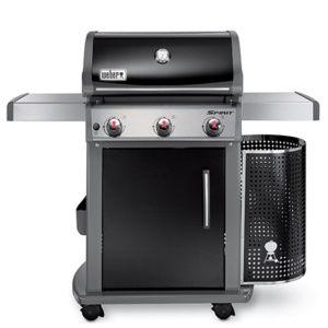 Barbecue gaz Spirit Premium E310 Noir Weber SOLDES