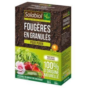 Fougères en granulés 300 g Solabiol