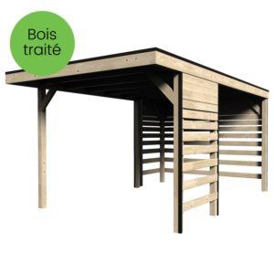 Carport bois traité 14,59 m² Elite
