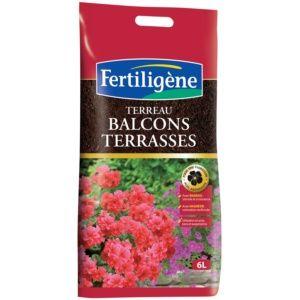 TERREAU BALCONS ET TERRASSES 6 L