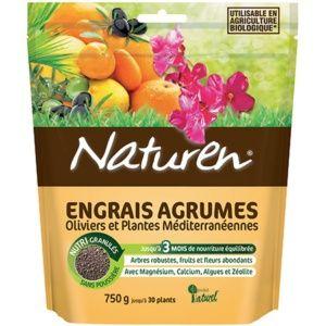 NATUREN ENGRAIS AGRUMES 750 G- NATUREN