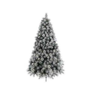 Sapin Noël artificiel 'Vancouver Enneige'. H150cm. Livraison incluse.