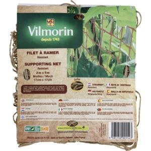 Filet à ramer Bio 2 x 5 m – Vilmorin