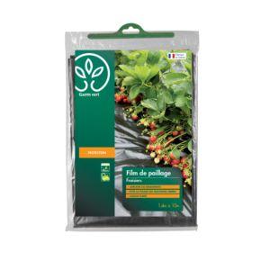 Paillage fraise 1,40 X 10 m – Gamm Vert