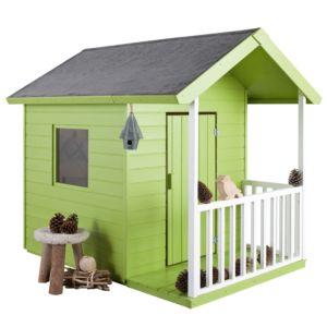 Maisonnette de jeux pour enfant en bois Kangourou