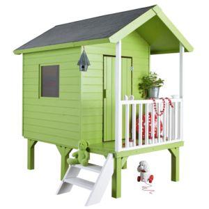 Maisonnette de jeux pour enfant en bois Kangourou, sur pilotis
