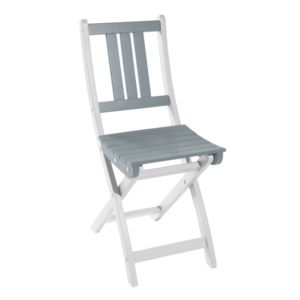 Chaise pliante City Green Burano bois gris