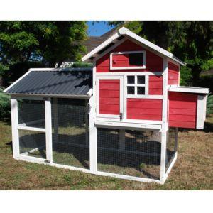 Poulailler House II 4 à 5 poules