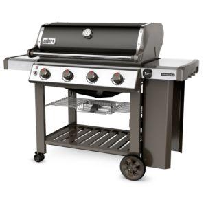 Barbecue gaz Weber Genesis II E-410 noir Système de grillades GS4. PLANTES-ET-JARDINS – Jardinerie en ligne