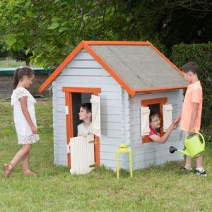 Maisonnette pour enfant en bois traité Dona Trigano