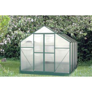 Serre polycarbonate 7.56 m² – Habrita