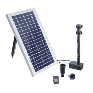 Pompe jeu d'eau solaire PondoSolar 600 Control. PLANTES-ET-JARDINS – Jardinerie en ligne