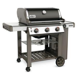 Barbecue à gaz Weber Genesis II E-310 noir PLANTES-ET-JARDINS – Jardinerie en ligne