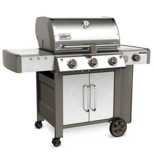 Barbecue à gaz Weber Genesis II LX S-340 inox PLANTES-ET-JARDINS – Jardinerie en ligne
