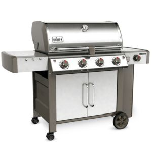 Barbecue à gaz Weber Genesis II LX S-440 inox PLANTES-ET-JARDINS – Jardinerie en ligne