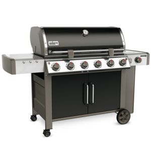 Barbecue à gaz Weber Genesis II LX E-640 noir PLANTES-ET-JARDINS – Jardinerie en ligne