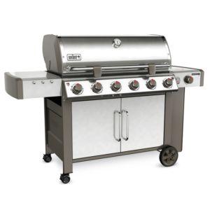 Barbecue à gaz Weber Genesis II LX S-640 inox PLANTES-ET-JARDINS – Jardinerie en ligne