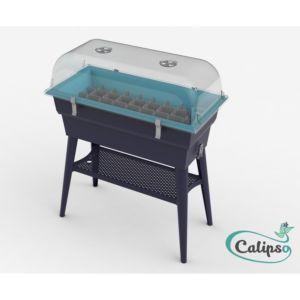 Jardinière 40 L Calipso Combi turquoise – Pouss'Vert