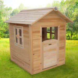 Maisonnette pour enfant en bois Noa PLANTES-ET-JARDINS – Jardinerie en ligne