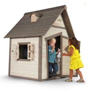 Maisonnette pour enfant en bois Cabin PLANTES-ET-JARDINS – Jardinerie en ligne