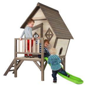 Maisonnette pour enfant en bois sur pilotis Cabin PLANTES-ET-JARDINS – Jardinerie en ligne
