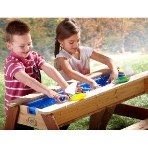 Table de pique-nique en bois pour enfants Sable et Eau Nick PLANTES-ET-JARDINS JADINERIE EN LIGNE