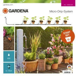 Kit Micro-Drip System pour plantes en pots – Gardena