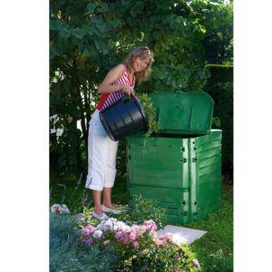 Composteur Thermo-King Vert 600 L + grille de fond – Garantia