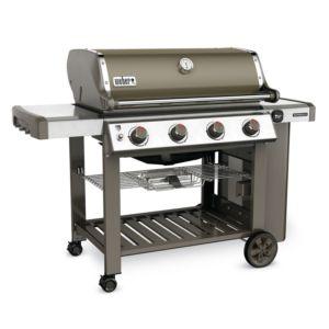 Barbecue gaz Weber Genesis II E-410 gris avec plancha offerte PLANTES-ET-JARDINS – Jardinerie en ligne