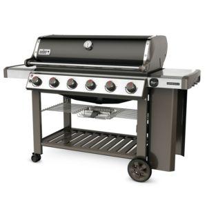 Barbecue gaz Weber Genesis II E-610 noir + plancha offerte PLANTES-ET-JARDNIS – Jardinerie en ligne
