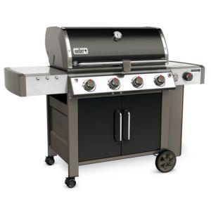 Barbecue gaz Weber Genesis II LX E-440 noir + plancha offerte PLANTES-ET-JARDINS Jardinerie en ligne