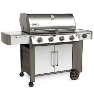 Barbecue à gaz Weber Genesis II LX S-440 inox + plancha offerte PLANTES-ET-JARDINS – Jardinerie en ligne
