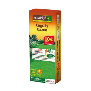 ENGRAIS GAZON 10 KG – Solabiol