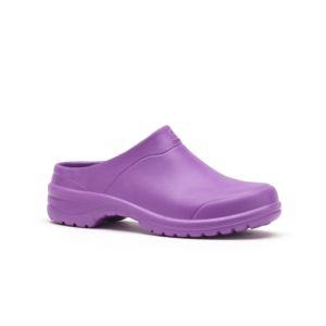 Sabots ouverts femme One violet – Taille 40/41 – Rouchette