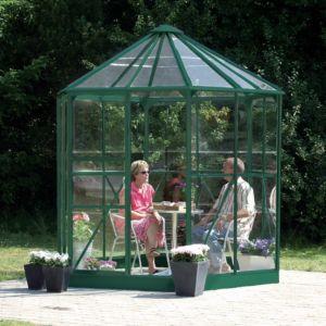 Serre Hera en verre 2.56 m² vert – Lams
