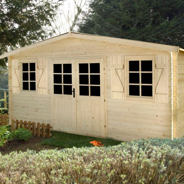 Choisir son abri de jardin de 20m2 gamm vert - Abri jardin gamm vert nice ...