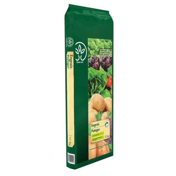 engrais potager 10 kg - gamm vert - plantes et jardins
