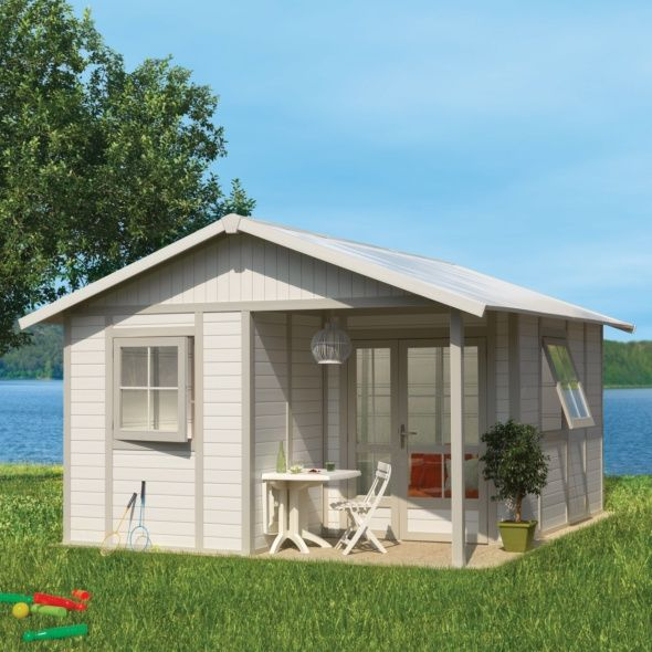choisir son abri de jardin de 20m2 gamm vert. Black Bedroom Furniture Sets. Home Design Ideas