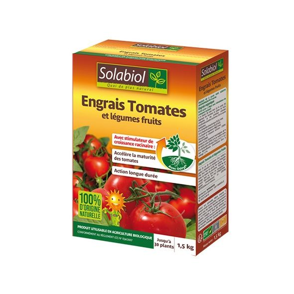Engrais tomates avec Osiryl 1,5kg - Solabiol