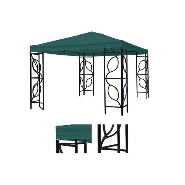 tonnelle en fer forg plantes et jardins. Black Bedroom Furniture Sets. Home Design Ideas