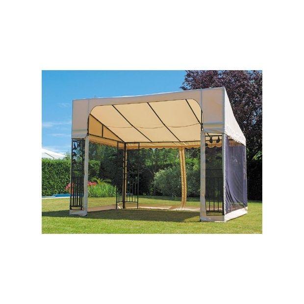 marquise veranda avec moustiquaire amovible plantes et jardins. Black Bedroom Furniture Sets. Home Design Ideas