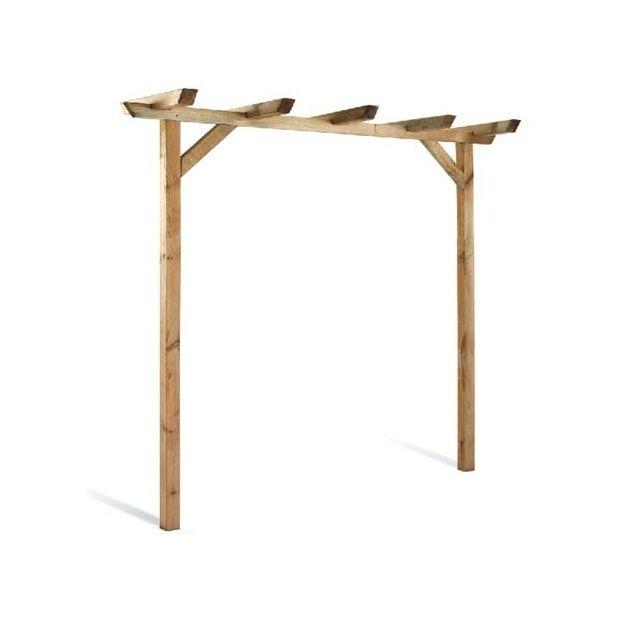 pergola pivoine simple en bois autoclave fsc jardipolys plantes et jardins. Black Bedroom Furniture Sets. Home Design Ideas