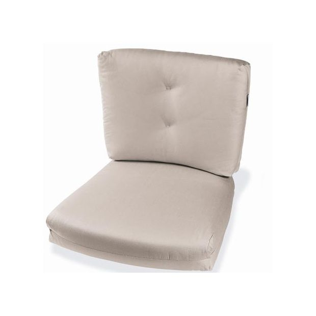 Coussin d 39 assise et de dossier pour fauteuils athena 1 - Coussins pour balancelle assise et dossier ...
