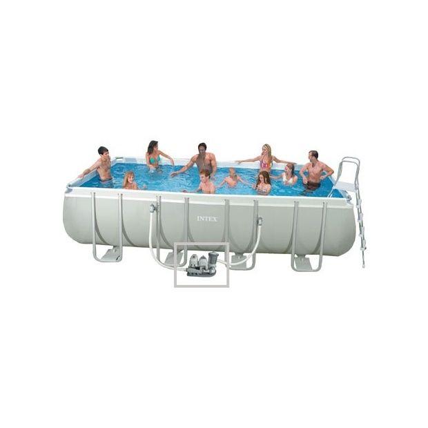 kit piscine tubulaire ultra silver intex l 5 49 m x l 2 74 m x h 1 32 m plantes et jardins. Black Bedroom Furniture Sets. Home Design Ideas