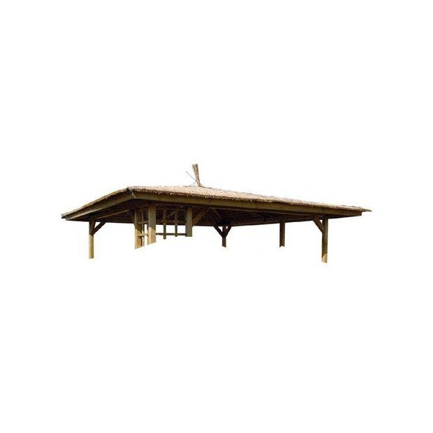Très Kit toiture en paille pour tonnelle de luxe Jardipolys - Plantes  KA17