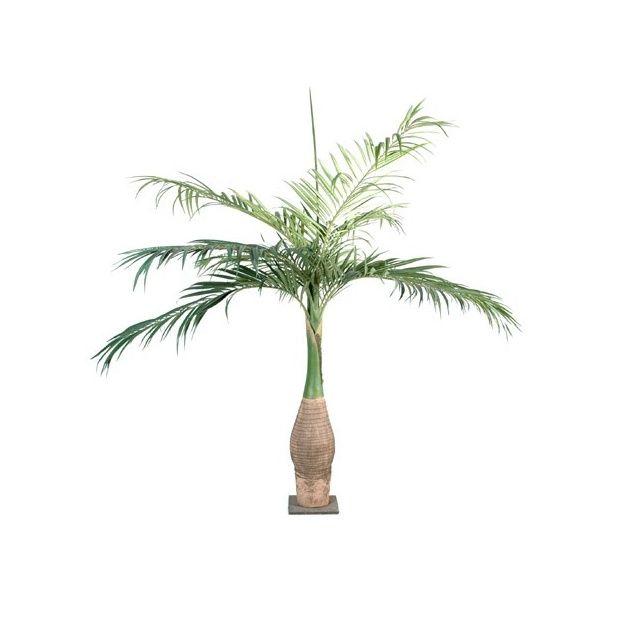 Palmier bouteille tronc fibre de verre feuillage for Bambou artificiel 2m