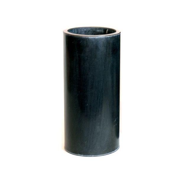 pot cylindrique en zinc noir 21 litres diam tre 23 cm hauteur 50 cm plantes et jardins. Black Bedroom Furniture Sets. Home Design Ideas