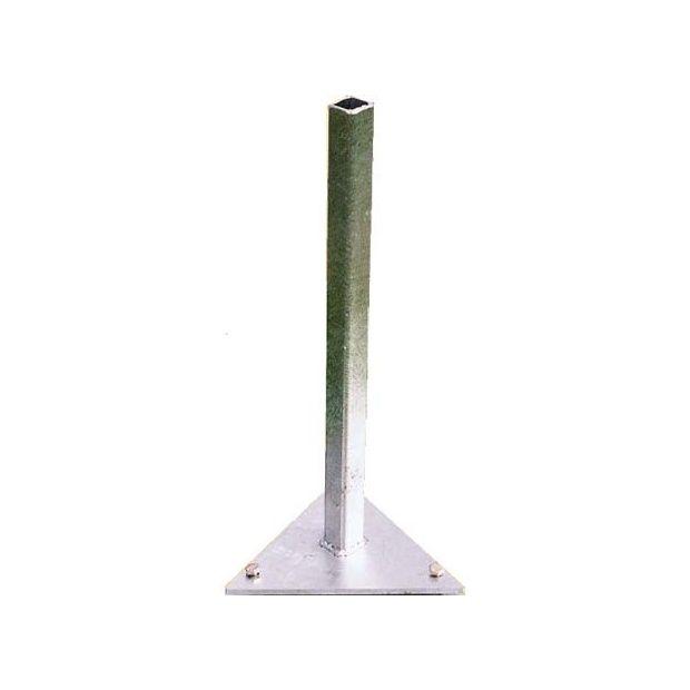 support triangulaire fixer au sol pour parasol paraflex. Black Bedroom Furniture Sets. Home Design Ideas