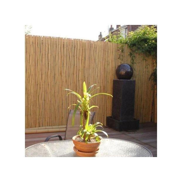 cache vue en bambou l200xh180cm pour cl ture ou occultation plantes et jardins. Black Bedroom Furniture Sets. Home Design Ideas