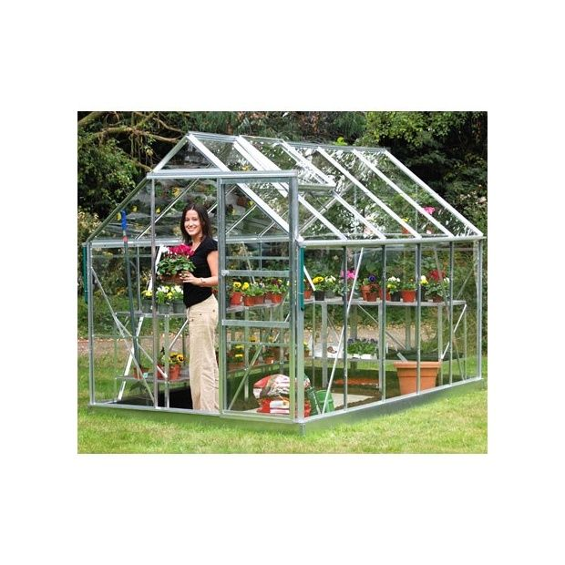 Serre De Jardin Princess En Verre Tremp 6 20 M Hors Tout Eden Plantes Et Jardins
